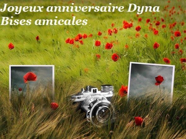 Joyeux anniversaire Dyna