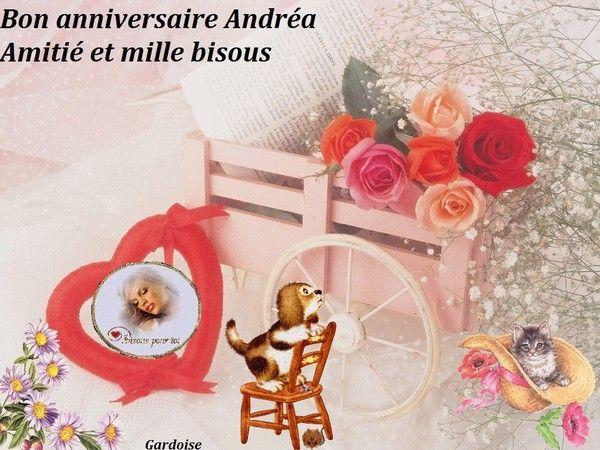 Bon anniversaire Andréa