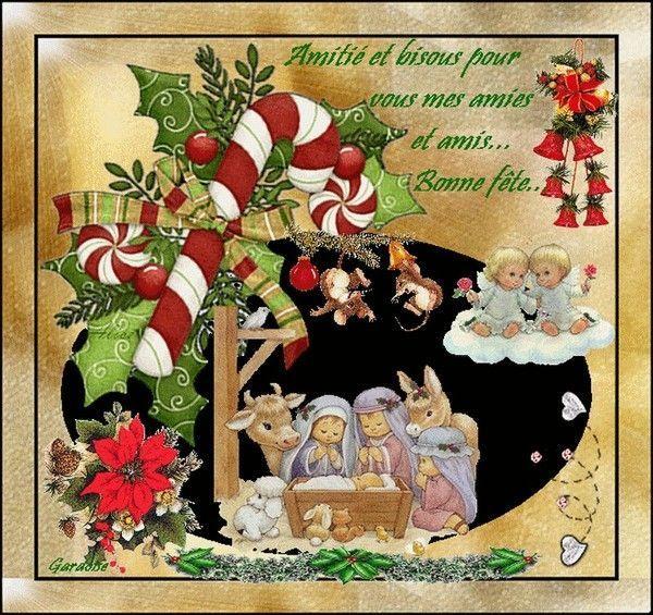 Joyeux Noël mes amies et amis
