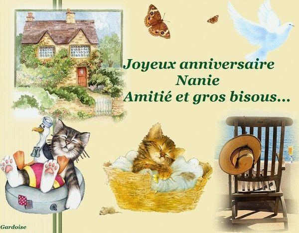 Joyeux anniversaire Nanie