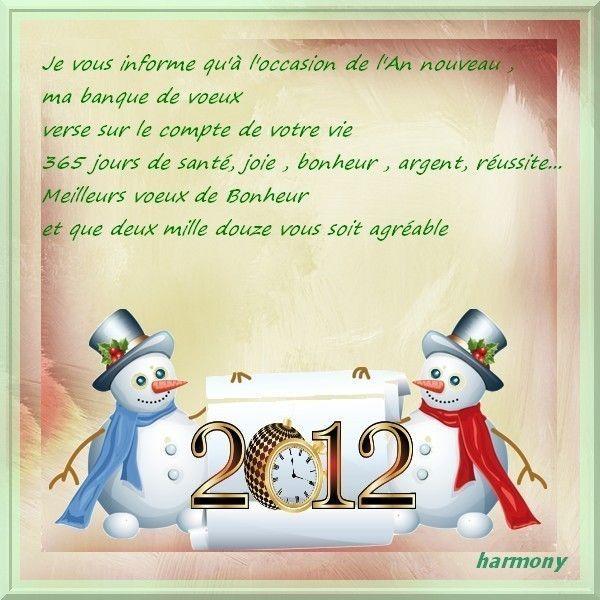 Cadeau de bonne année chez harmony2011