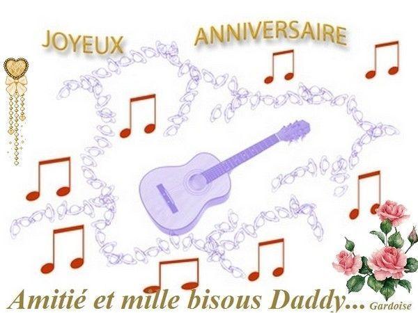 Bon anniversaire Daddy