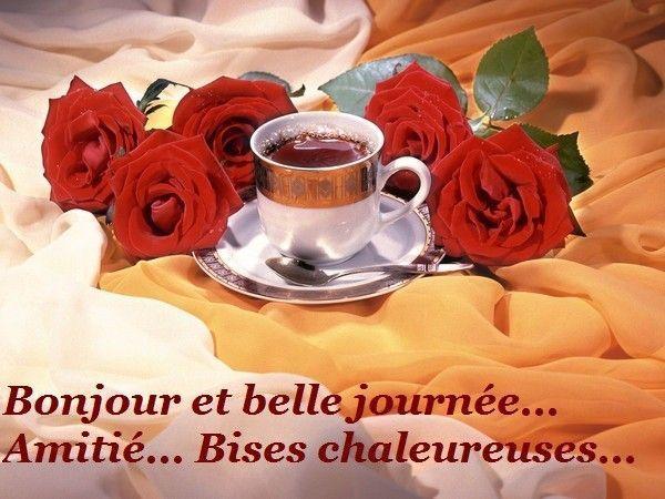 Bonjour et bonne journée