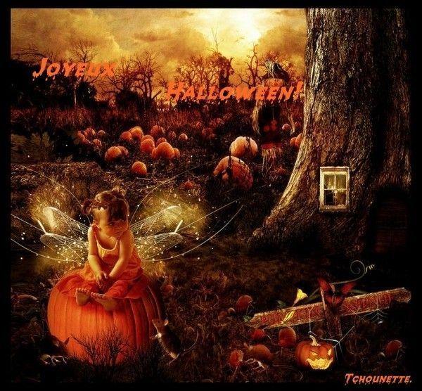 Cadeau Halloween de tchounette