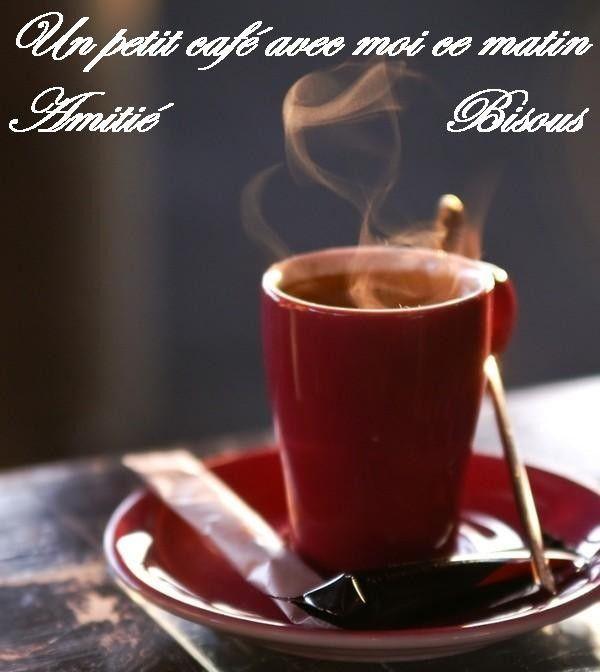 Photo Bonne Journee Petit Cafe Amoureux
