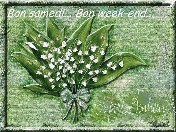 Bon samedi, bon week-end