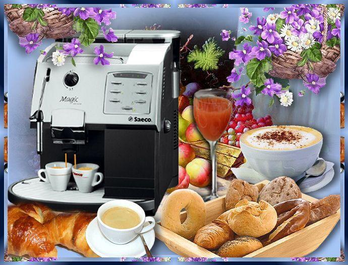 Bon matin for Dejeuner entre amis