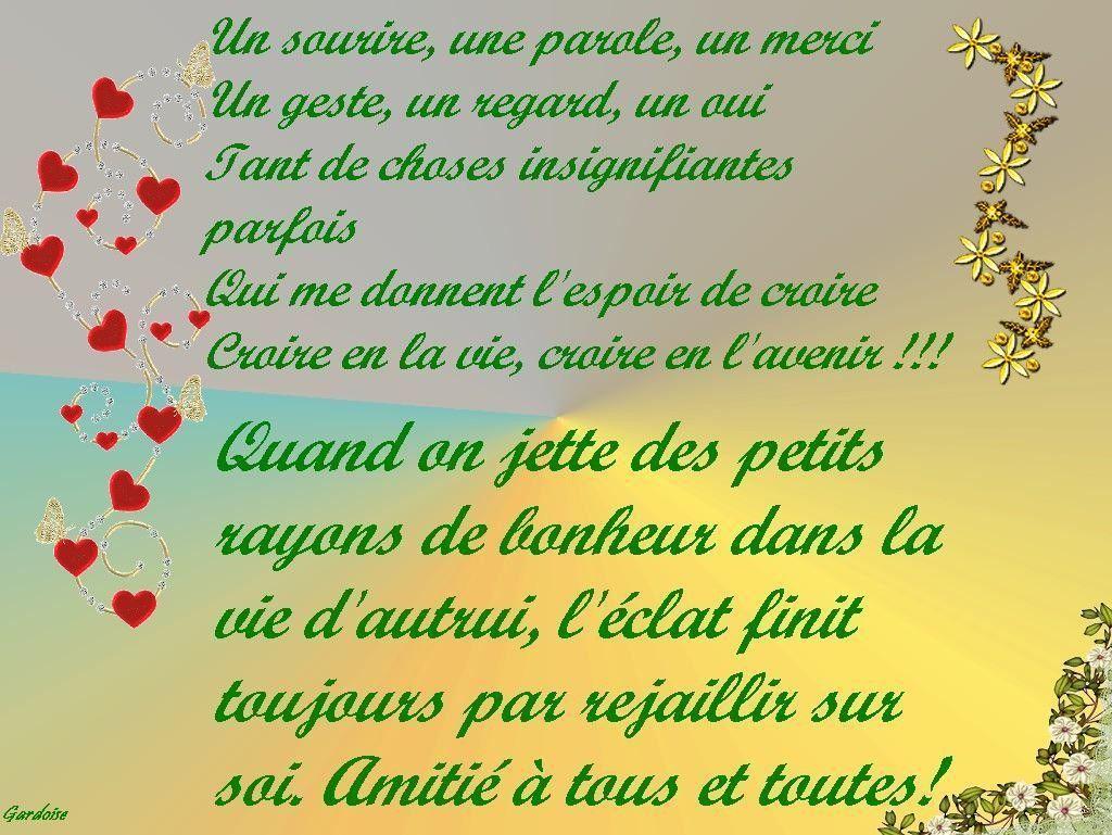 Ebook Poeme D Amitie Pour Une Amie